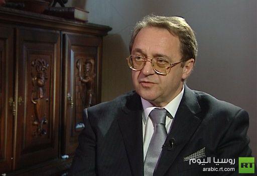 الخارجية الروسية: موسكو تنظر دائما باهتمام الى تقييمات وأفكار كوفي عنان