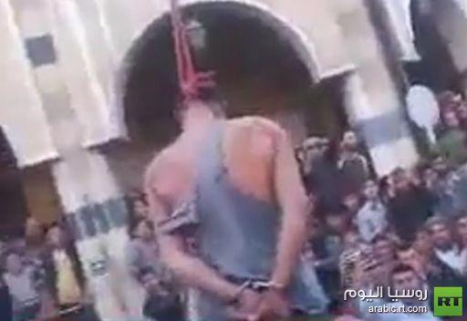 فيديو يظهر إعدام شاب في سورية