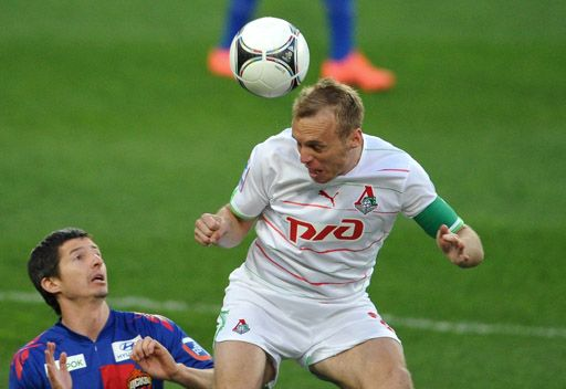 تسيسكا موسكو ينفرد بالمركز الثاني في الدوري الروسي