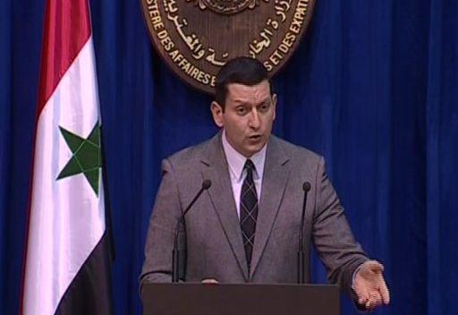 دمشق تدعو المعارضة التي ترفض التدخل الأجنبي إلى إجراء مفاوضات