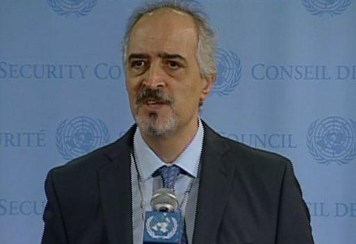 الجعفري: تنفيذ خطة عنان يحتاج إلى الإرادة السياسية لمن يدعم المعارضة، وليس للحكومة السورية فقط
