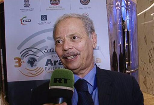 تهنئة أحمد بن حلي – نائب الأمين العام لجامعة الدول العربية لقناة روسيا اليوم