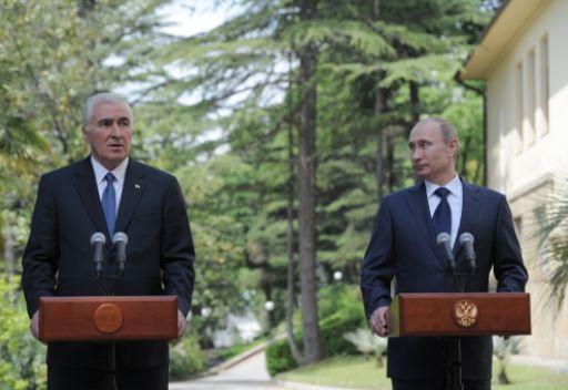 بوتين يرجح زيادة حجم المساعدات الروسية الى أوسيتيا الجنوبية