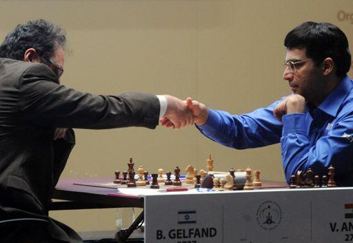 أناند يحتفظ بلقب بطل العالم للشطرنج