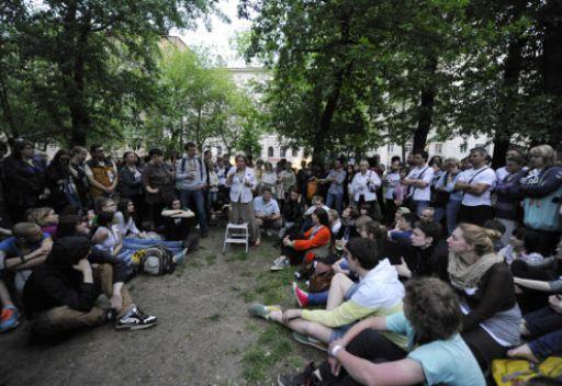 سلطات موسكو تقول إنها لن تسمح بإقامة مخيمات احتجاج في العاصمة الروسية