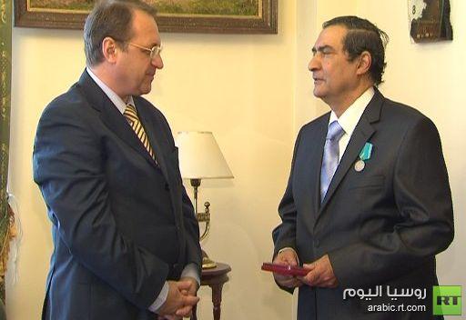 منح ميدالية بوشكين إلى مترجم مصري