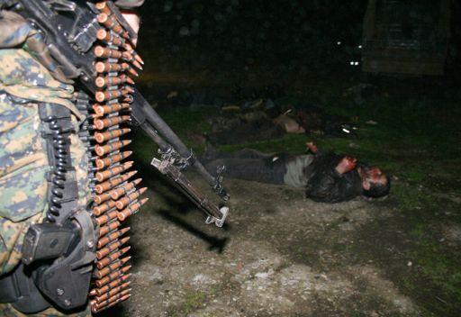 تصفية مسلح بداغستان يفترض انه من المرتزقة الاجانب وقائد احدى العصابات