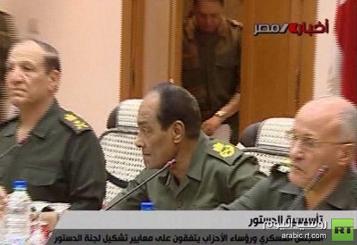 مصر.. اجتماع بين المجلس العسكري والقوى السياسية يوم الأربعاء