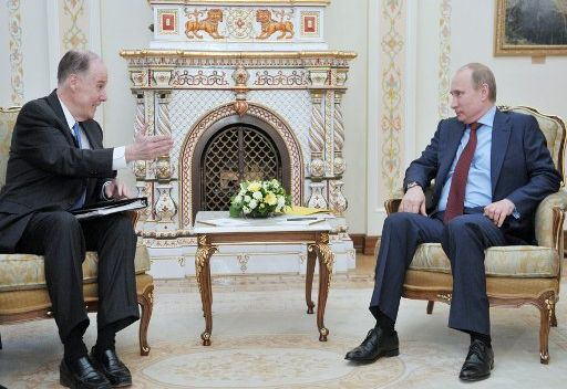 بوتين يعرب عن أمله بمواصلة الحوار البناء مع الولايات المتحدة على اعلى مستوى