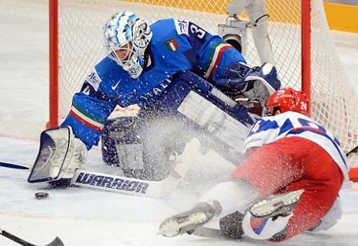 روسيا تحقق فوزها السابع في بطولة العالم للهوكي
