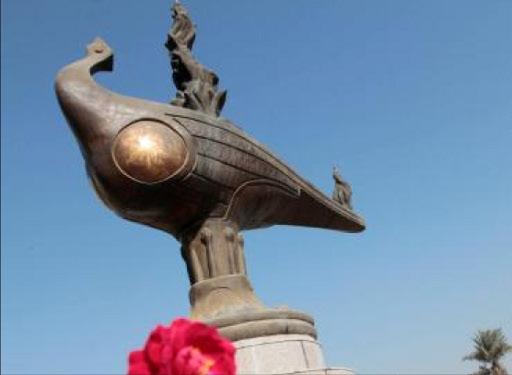 إفتتاح عدة نصب للنحات العراقي الراحل محمد غني حكمت تتغنى ببغداد