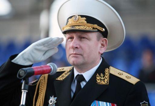 القائد العام للقوات البحرية الروسية اللواء البحري فيكتور تشيركوف