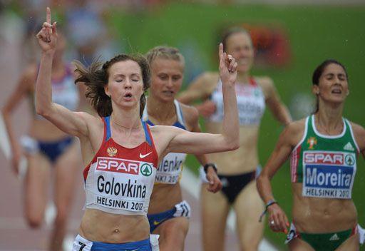 غولوفكينا تحرز ذهبية روسيا الأولى في بطولة أوروبا لأم الألعاب