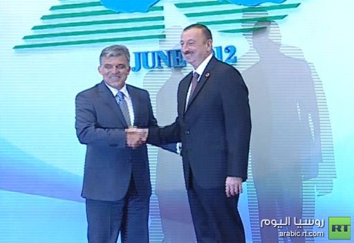 أنقرة وباكو توقعان اتفاقية لبناء خط انابيب لنقل الغاز