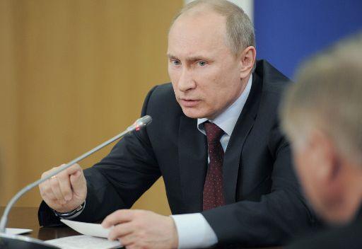 بوتين يوقع قانونا يشدد العقوبات على الانتهاكات اثناء المظاهرات