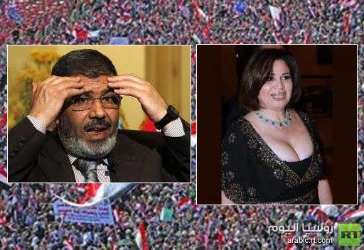 إلهام شاهين تنفي هجومها على الثورة المصرية ومحمد مرسي