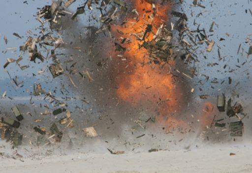 حريق ضخم بأحد المستودعات العسكرية في روسيا يسفر عن انفجارات ذخائر متسلسلة