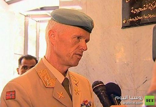 مود: نقلت للحكومة السورية مخاوفنا الجدية من تصاعد العنف