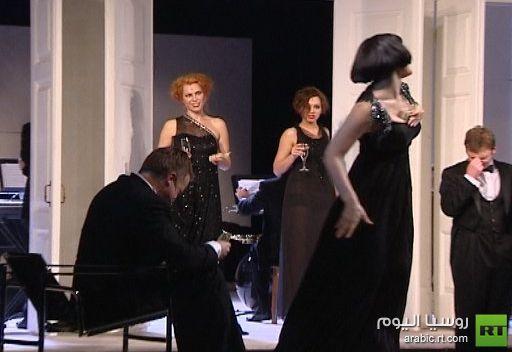مسرحية لبولغاكوف لأول مرة على خشبة مسرح موسكو الفني