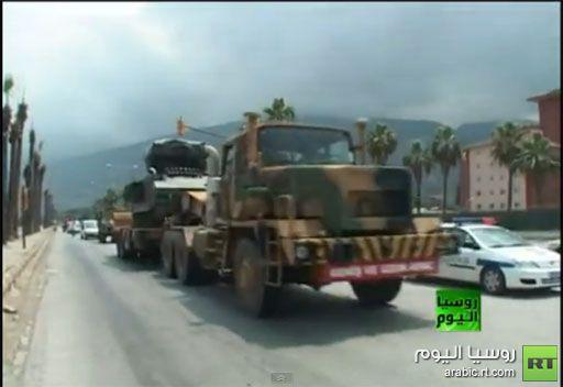 فيديو .. آليات تركية تتحرك نحو الحدود مع سورية