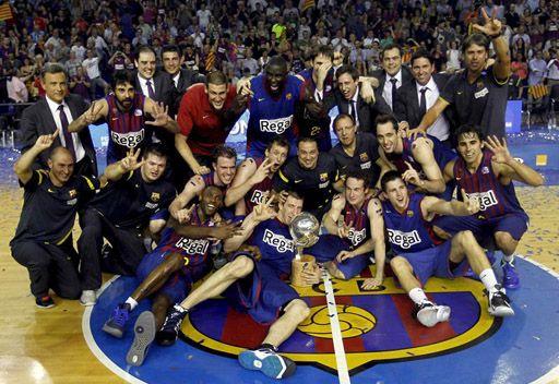 برشلونة يتوج بلقب الدوري الإسباني لكرة السلة