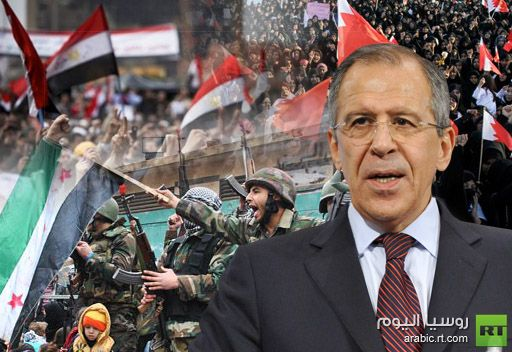 لافروف: روسيا جاهزة للإسهام في تسوية النزاعات في المنطقة العربية