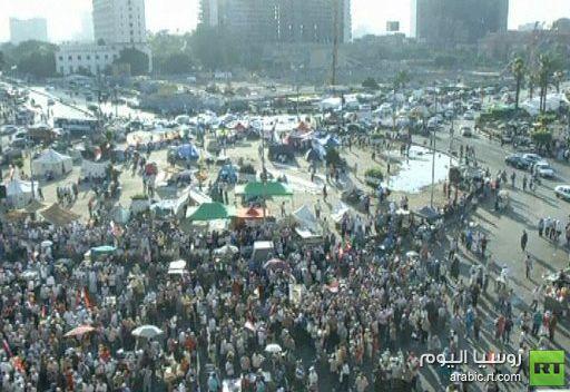 استمرار الاعتصام في ميدان التحرير وسط القاهرة ولجنة الانتخابات مترددة بشأن اعلان النتائج