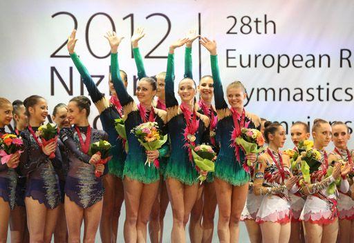روسيا الأولى في بطولة أوروبا للجمباز الفني