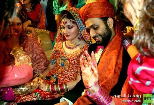 السلطات الهندية تخصص 800 ألف دولار لحفلات زفاف الفقراء