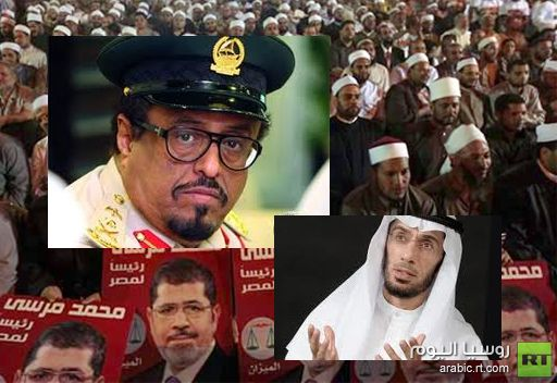 مصريون ينضمون للعوضي ويستنكرون موقف خلفان من الرئيس المصري