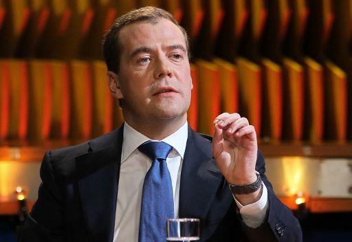 مدفيديف: رئيس الوزراء لن يكون تكنوقراطيا ابدا في روسيا