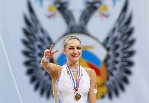 الروسية كانايفا بطلة أوروبا للجمباز الفني