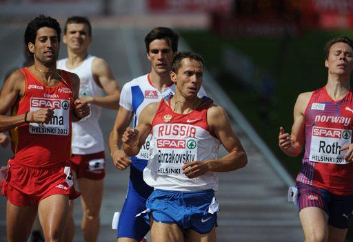 بورزاكوفسكي يتوج بذهبية أوروبا لسباق 800 متر