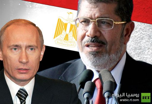 بوتين يهنئ نظيره المصري بالذكرى الستين لثورة يوليو 1952