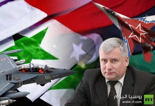 مسؤول روسي: روسيا لن تورد أسلحة جديدة إلى سورية قبل تسوية الأزمة السورية