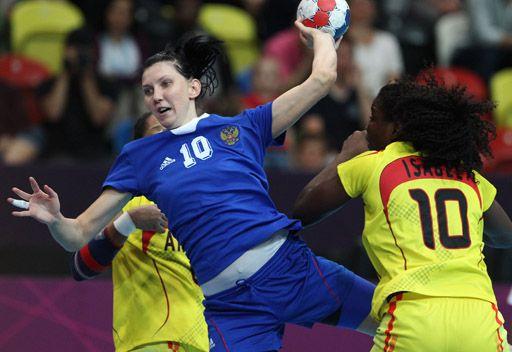روسيا تفوز على أنغولا بكرة اليد في لندن