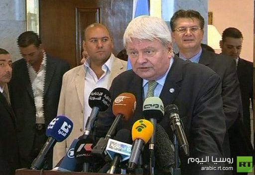 لادسوس: علينا تقييم الوضع في سورية خلال الفترة القادمة
