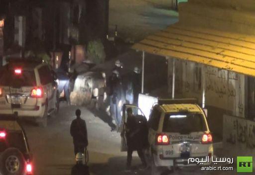 مشاهد لإشتباكات بين المحتجين والشرطة في البحرين