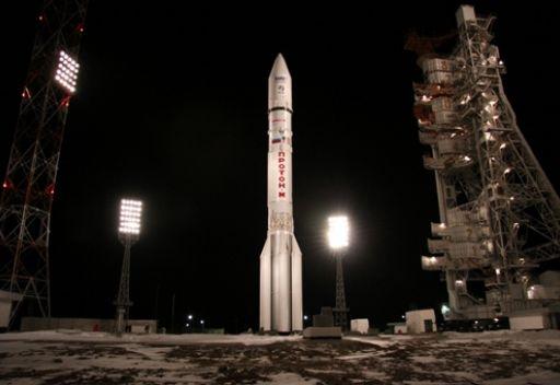 إطلاق صاروخ روسي يحمل قمر اتصالات إلى المدار