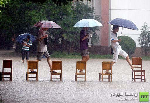 مقتل 95 شخصا في الصين جراء الفيضان