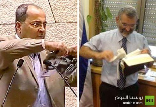 طيبي يتلقى تهديدا بالقتل لتمزيقه صورة كهانا رداً على تمزيق الإنجيل