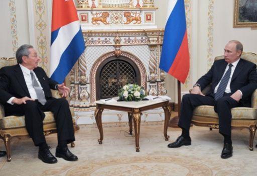 بوتين ومدفيديف يؤكدان لراؤول كاسترو أهمية تطوير العلاقات الروسية الكوبية