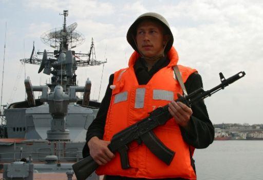 مجموعة من بوارج أسطول البحر الاسود الروسي بدأت تنفيذ مهام تدريبية في البحر الأبيض المتوسط