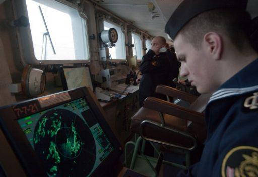 سفينة حربية روسية تدخل مياه البحر المتوسط قادمة من منطقة القرن الفريقي
