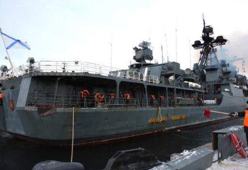دبلوماسي روسي: زيارة عدد من السفن الروسية إلى طرطوس ليست استعراضا للقوة