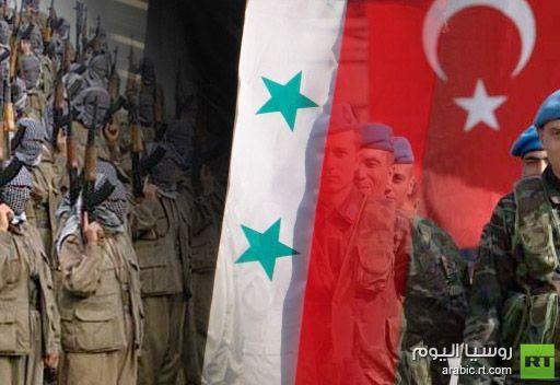 أنباء عن احتجاز 40 عسكريا تركيا عبروا الحدود مع سورية