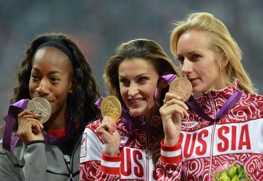 روسيا تسجل رقما قياسيا بعدد الميداليات خلال يوم واحد في أولمبياد 2012