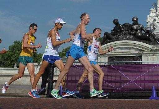 الروسي كيرديابكين يفوز بذهبية المشي 50 كلم