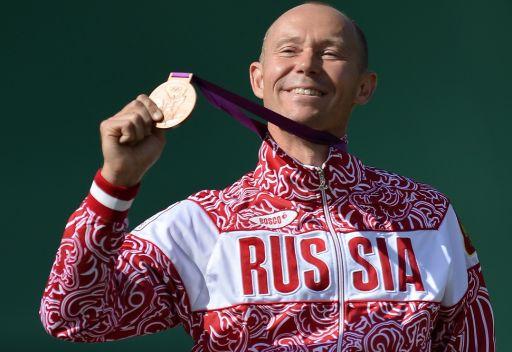 الرامي الروسي موسين يحرز البرونزية الأولمبية على حساب الكويتي الديحاني