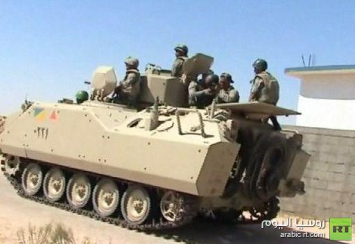 الجيش المصري يرسل تعزيزات عسكرية إلى شمال سيناء